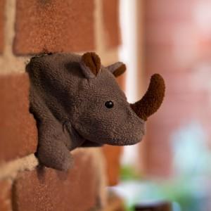 Rhino Representing tenacity of Tenato strategy