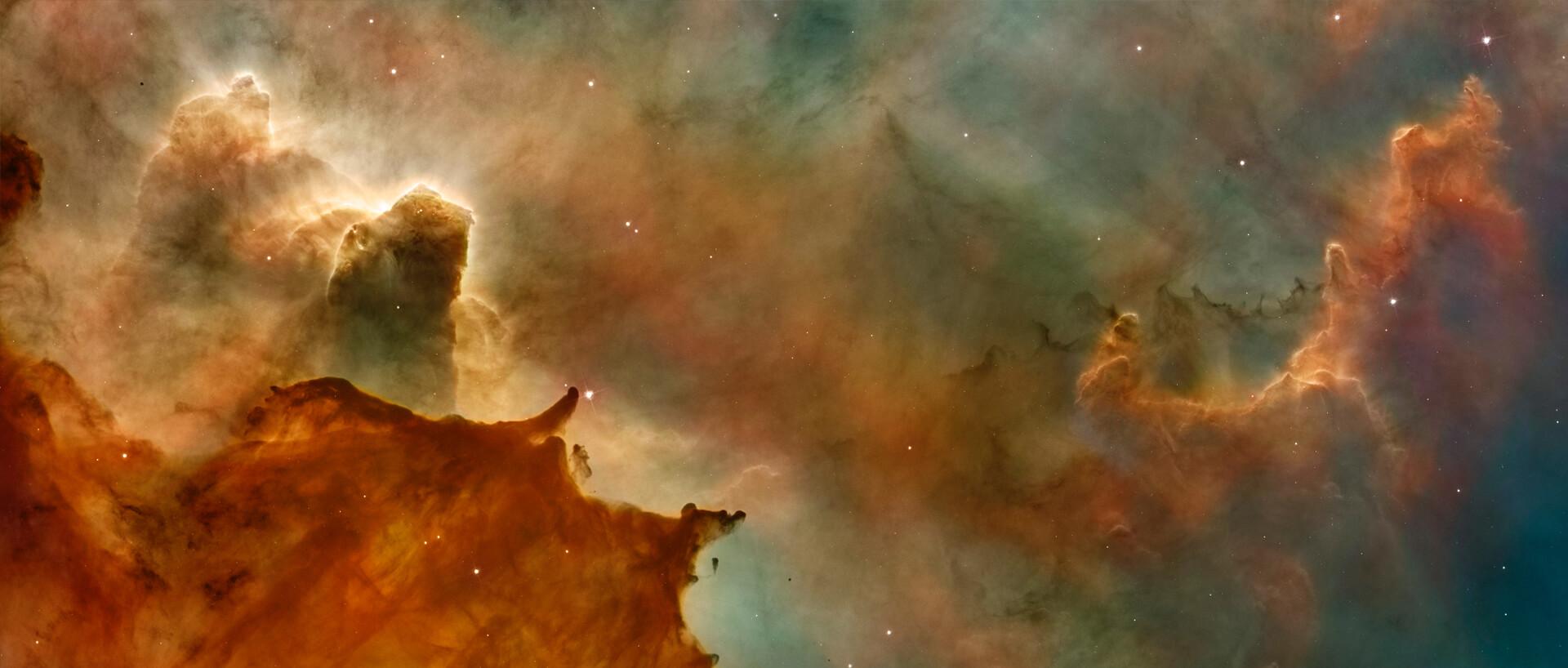 panorama photo of the galaxy