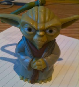 Keychain Yoda