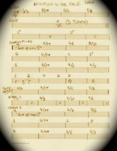 Musical Chart for Exception by Jacqueline Drew