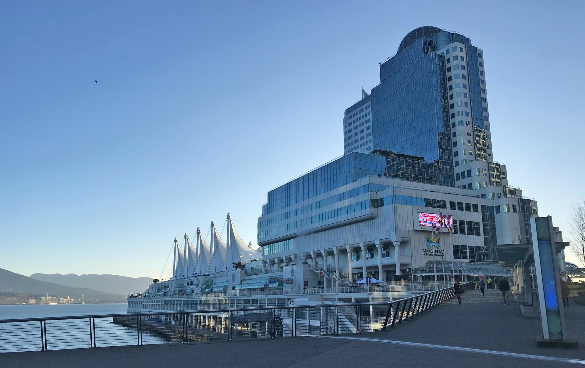 Canada Place in Vancouver, BC